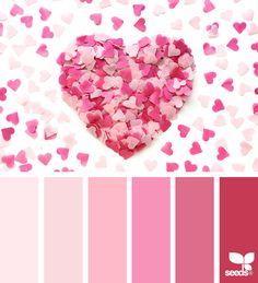 Color Love via @designseeds#seedscolor #color #colorpalette #color #palette #pallet #colour #colourpalette #design #seeds #designseeds