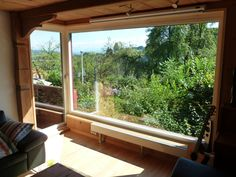 Panoramafenster Timber Wood
