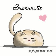 Gif buonanotte ⋆ Toghigi♥Paper Messages For Friends, Good Night Wishes, Day For Night, Animated Gif, Cartoons, Gifs, Sticker, Entertainment, Facebook