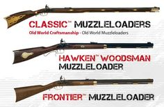 Classic Muzzleloaders by Traditions Performance Firearms