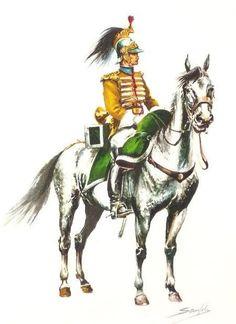 Caballería de Línea Alcantara 1815