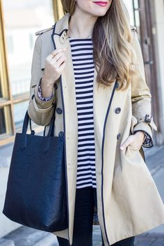 I would love a coat like this for fall!  I love that it's an updated trench.  Petite, of course!