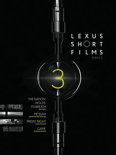 Xenon 03 Without light there is no cinema. Therefore it's only consequent to make the source of all cinematography and projection the hero of the poster. In this case it's a Xenon lamp as used in modern digital film projectors.Beyond that the reflection of the spheric center of the xenon lamp brings a camera lens to mind. And as the light is the source of all cinema, so is the lexus short film series the source of emerging filmmakers. #LexusShortFilms #talenthouse