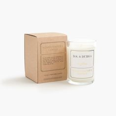 J.Crew Gift Guide: men's D.S. & Durga for J.Crew Homesteader's candle.
