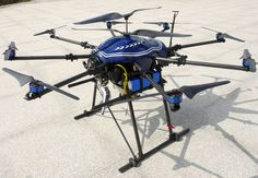 World's first hibrid multicopter gas/electric by reddit user conrick