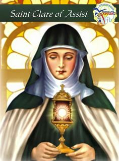 Saint of the Day AUGUST 11  ST. CLARE #kabataangkatoliko  Saint Clare of Assisi (July 16 1194  August 11 1253 born Chiara Offreduccio and sometimes spelled Clair Claire etc.) is an Italian saint and one of the first followers of Saint Francis of Assisi. She founded the Order of Poor Ladies a monastic religious order for women in the Franciscan tradition and wrote their Rule of Life the first set of monastic guidelines known to have been written by a woman. Following her death the order she…
