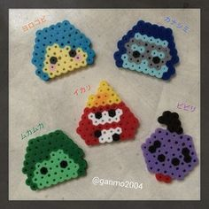 Inside Out perler beads by ganmo2004