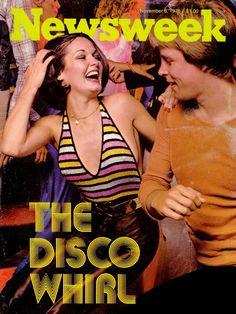 Newsweek magazine (November 6, 1976) — The Disco Whirl