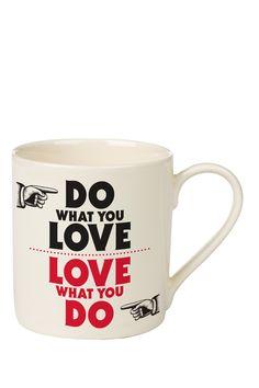 Do what you love // coffee mug