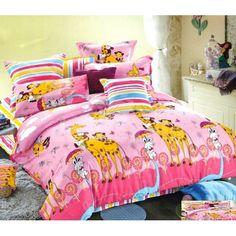 Ružové detské posteľné obliečky so žirafami Comforters, Blanket, Bed, Home, Creature Comforts, Quilts, Stream Bed, Ad Home, Blankets