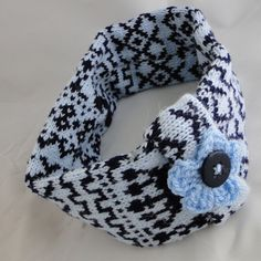 Fair Isle Knit Headband - Bluestone, Paradis Terrestre - Luxury British Made Accessories & Homeware Knit Headband, Modern Hippie, Handmade Headbands, Fair Isle Knitting, Unique Cards, British, Retro, Luxury, Crochet