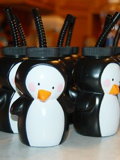 penguin cups for the kiddos!