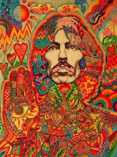 George Harrison - Psychedelic, Richard Avedon - x Beatles Poster Beatles Poster, Les Beatles, Beatles Art, Rock Posters, Band Posters, Concert Posters, Hippie Posters, Retro Posters, Music Posters