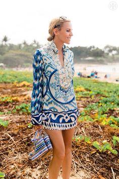 Bata indiana super tendência tanto na saída de praia como no dia a dia chic!