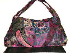 Hobo bag  Casual boho chic handbag Trendy by VixDesignStudio, $32.00