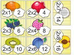 Speciális Juttatás és Fejlesztés: Szorzókártyák speciálisan/ SPECIAL MULTIPLICATION ... Multiplication, Math, Schools, Cards, 3 Year Olds, School, Math Resources, Maps, Playing Cards