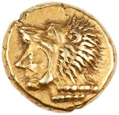 Herakles head l. Rare Gold Coins, Gold And Silver Coins, Debloquer Iphone, Electrum, Snake Art, Coin Art, Ancient Art, Ancient History, Antique Coins