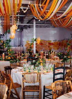 wedding shoes boda B - weddingshoes Orange Wedding Themes, Wedding Color Schemes, Orange Weddings, Bright Wedding Colors, Wedding Orange, Küchen Design, Event Design, Orange Color Schemes, Orange Party