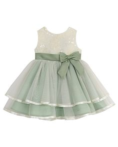 11f4bb4d6 NWT Rare Editions Baby Girls' Tiered Tulle Dress and Diaper Cover 24 Months
