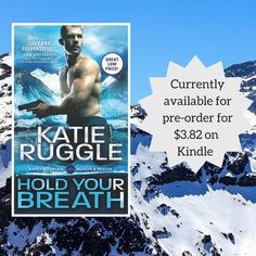 """Katie Ruggle on Twitter: """"One more week! Hold Your Breath's out 4/5. Right now, Kindle has it discounted to $3.82(!!). https://t.co/lZAWB9BssV https://t.co/b0YVxXBz2T"""""""