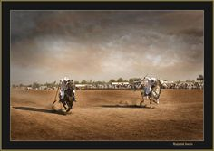 I grew up seeing the tent pegging event at the Horse Show in Lahore, Pakistan