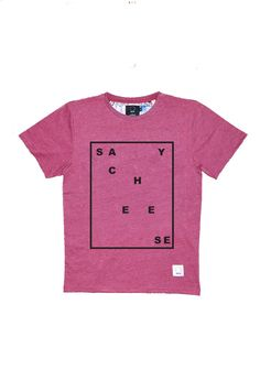 SAY CHEESE - BORDEAUX/BLANC/BEIGE/GRIS - SHUTTER CLOTHING SS15
