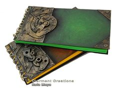 Possibly could DIY- If not though, the artist sells them on ETSY here: https://www.etsy.com/shop/diarmentcreations Steampunk Notebook series IV by ~Diarment on deviantART