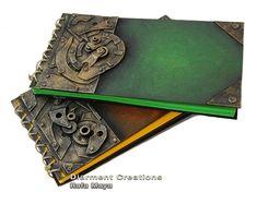 Steampunk Notebook series IV by Diarment.deviantart.com on @deviantART
