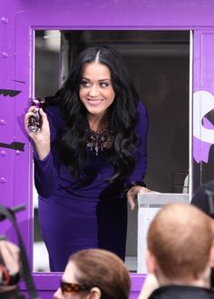 Katy Perry Purrs in New York