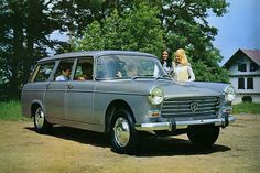 Peugeot 404 SW.