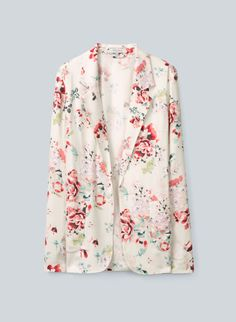 My latest spring purchase - the Talula Kent Blazer from Aritzia. Unstructured, super comfortable, with a subtle dash of florals.