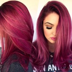 "2,085 Likes, 24 Comments - Hair Makeup Nails Blogger (@hotonbeauty) on Instagram: ""Pink Lilac Purple hair color design by @bescene #hotonbeauty"""
