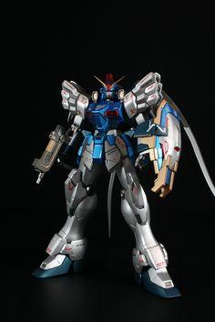 lj7stkok:    gunjap - MG 1/100 XXXG-01SR Gundam Sandrock EW Kai: Custom Paint. Full Photoreview Big or Wallpaper Size Images