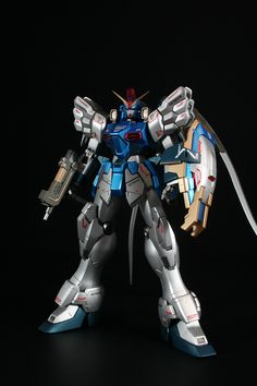 lj7stkok: gunjap - MG 1/100 XXXG-01SR Gundam Sandrock EW Kai: Custom Paint. Full Photoreview Big or Wallpaper Size Images