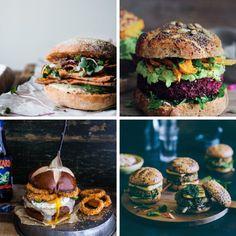 10 recetas de hamburguesas vegetales-el tarro de ideas
