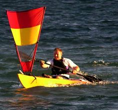DIY Spirit Sail for Sea kayak