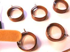 How to use my upcycled copper pipe bezels with by ScrappinCop