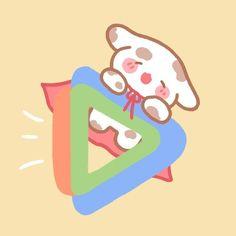 App Drawings, Cute Drawings, Kawaii App, Cute Food Art, Hello Kitty My Melody, Cute App, Cute Pastel Wallpaper, Iphone Wallpaper App, Animated Icons