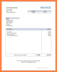 download form free invoice template | here is a preview of the, Invoice examples