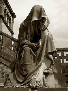 Alessandroni grave, Verano Monumental Cemetery, Rome, Italy