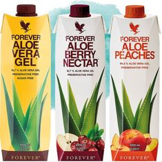 Our new Forever Aloe Vera Gel and Forever Aloe Berry Nectar can help you stay healthy and alert, since vitamin C contributes to the normal function of your immune system and helps counteract fatigue and exhaustion.