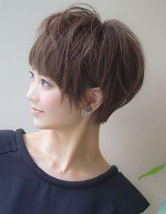 小顔になれる美人ショート(TU-366) | ヘアカタログ・髪型・ヘアスタイル|AFLOAT(アフロート)表参道・銀座・名古屋の美容室・美容院