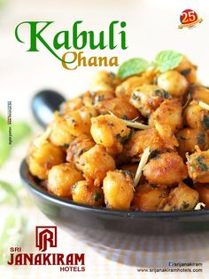 Ingredients of the highest quality, combined with restraint and balance!! Taste your mouth watery dish KABULI CHANA with #SrijanakiramHotels. #food #dinner #spicy   #yummyfood #recipe