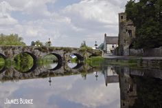 Bridge and Black Castle at Leighlinbridge. Said to be the oldest working bridge in Europe. Photo by James Burke