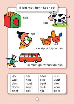 Dutch Language, Creative Teaching, Preschool Worksheets, Grade 1, Toddler Activities, Spelling, Author, Learning, Books