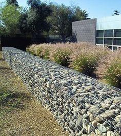 stone gabion wall from modernphoenix.net
