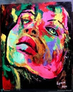 Miserable woman! #Creative #Art #Painting @touchtalent.com.com