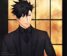 Haikyuu Nekoma, Kuroo Tetsurou, Haikyuu Fanart, Haikyuu Anime, Haikyuu Characters, Anime Characters, Fictional Characters, Kurotsuki, Hot Anime Guys