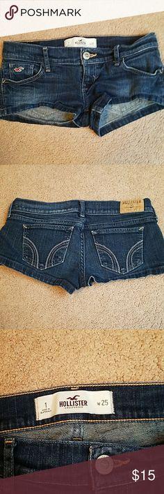 Hollister shorts good condition Hollister Shorts
