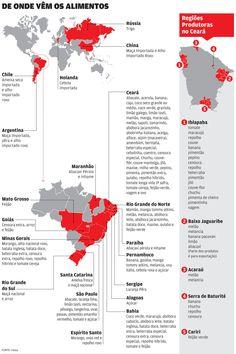 Seca no Sudeste eleva preços em até 60% no CE | Economia | O POVO Online